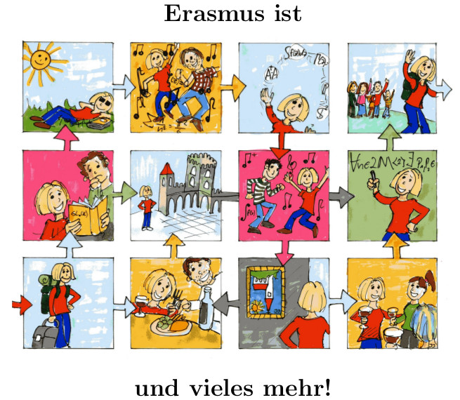 [Translate to Englisch:] Erasmus Poster
