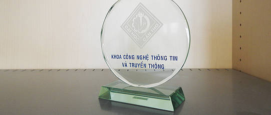 Award of the Can Tho University - Vietnam