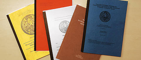 Picture of bachelor- and master theses