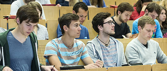 Students in the seminar room