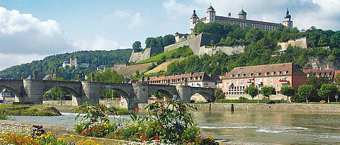 Picture of the Festung Marienberg in Würzburg