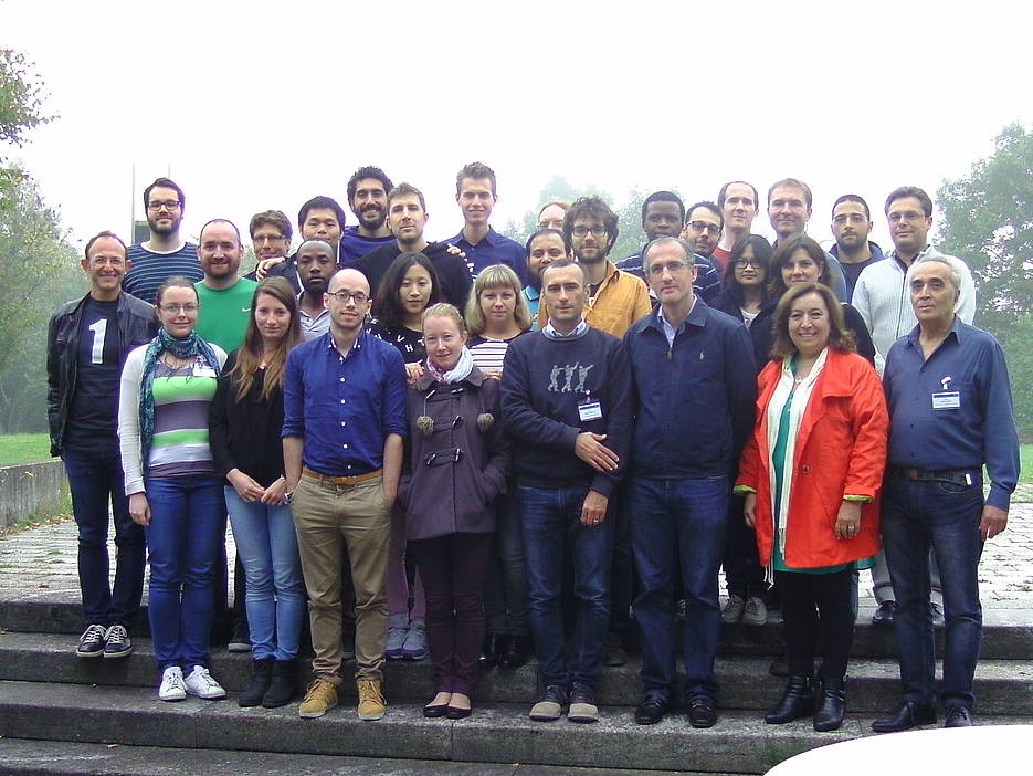 Participants of the Mini-Workshops in Stochastic Computing and Optimization 2014 in Würzburg