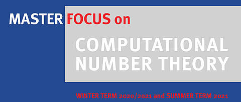 Poster Master Focus Computational Number Theory