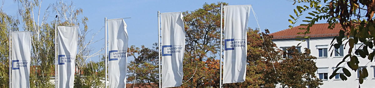 Flags of the University of Würzburg