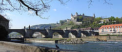 View of Fortress Marienberg and Old Main Bridge