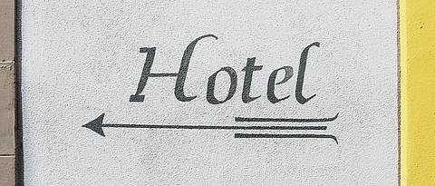 Lettering Hotel