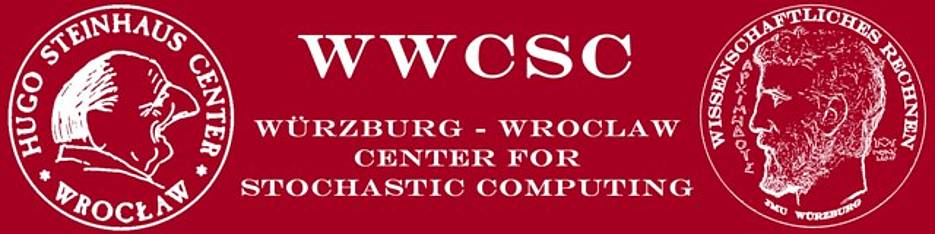 Logo of the Würzburg- Wrocław Center for Stochastic Computing